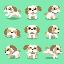 Cartoon Character Shih Tzu Dog...