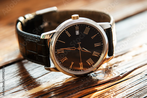 Expensive wrist watch