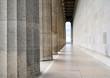 Galerie mit Säulen - Walhalla in Regensburg