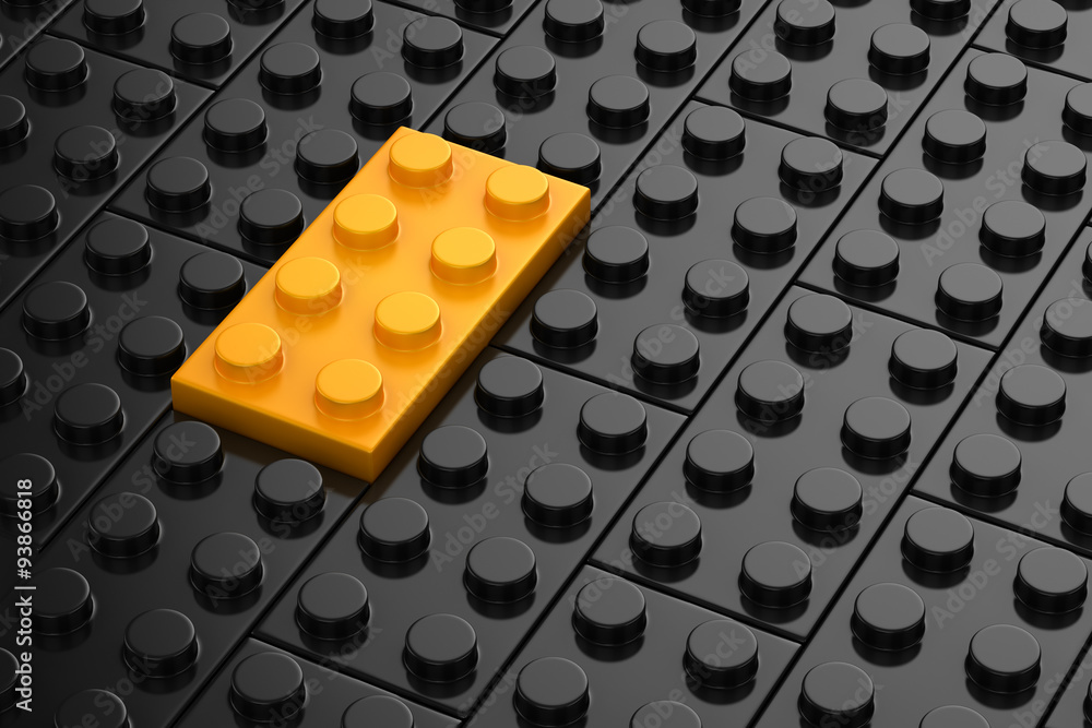 Fototapeta Different toys piece