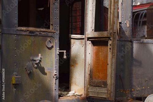 Fototapety, obrazy: Abandoned Carriage