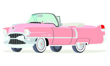 Caricatura Cadillac Convertibl...