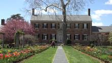 Fredericksburg Virginia Historic Chatham Manor Garden Man 4K