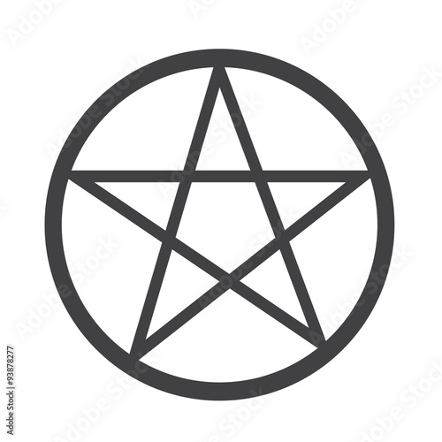 Photo  Pentagram icon