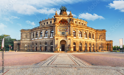 Canvas Prints Theater Dresden - Semperoper, Germany