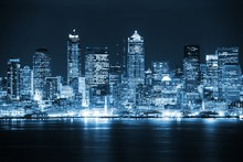 Night In The Seattle