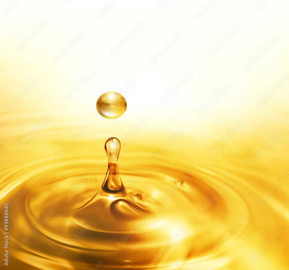 Fototapety, obrazy: dripping oil