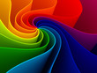 canvas print picture 3d colorful background