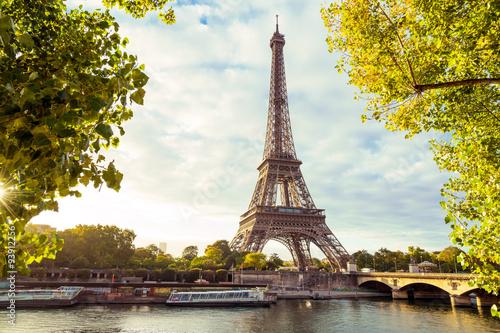 Printed kitchen splashbacks Eiffel Tower Paris