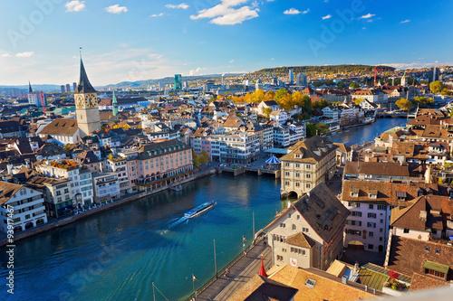Fotografie, Obraz  Zürich, Schweiz
