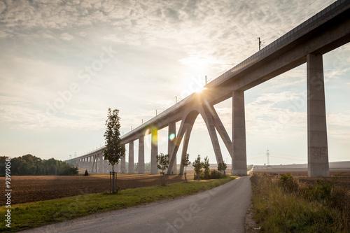 Valokuva  Unstruttalbrücke