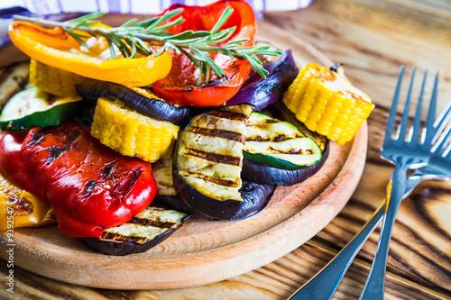 Recess Fitting Vegetables Grilled Vegetables