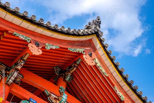 Fotobehang Tokyo Japansese pagoda