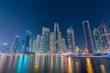 Dubai - JANUARY 10, 2015: Marina district on January 10 in UAE