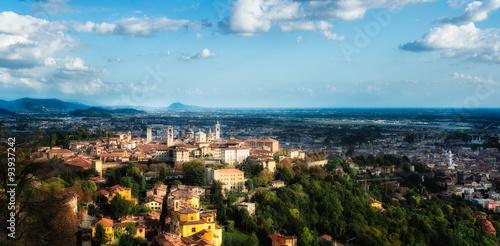 Fotografie, Obraz  Bergamo Alta (high)