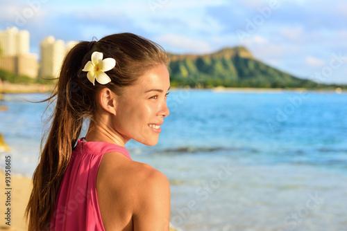 Waikiki woman