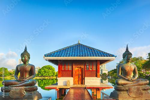 Fotografie, Obraz Seema Malaka chrám