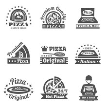 Pizzeria Label Set