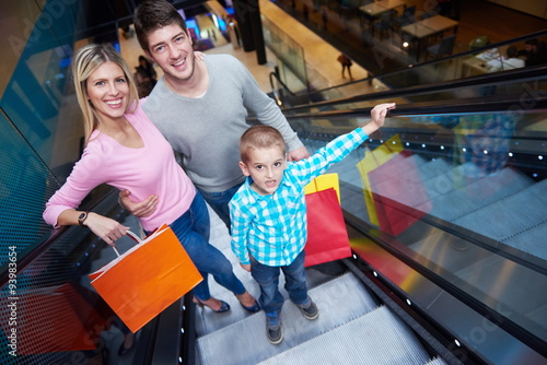 Papiers peints Attraction parc family in shopping mall