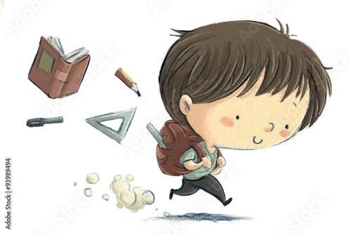 chlopiec-w-biegnacy-do-szkoly-i-gubiacy-po-drodze-przybory
