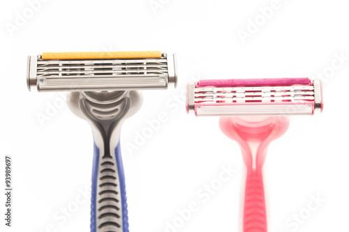 Male and female razor