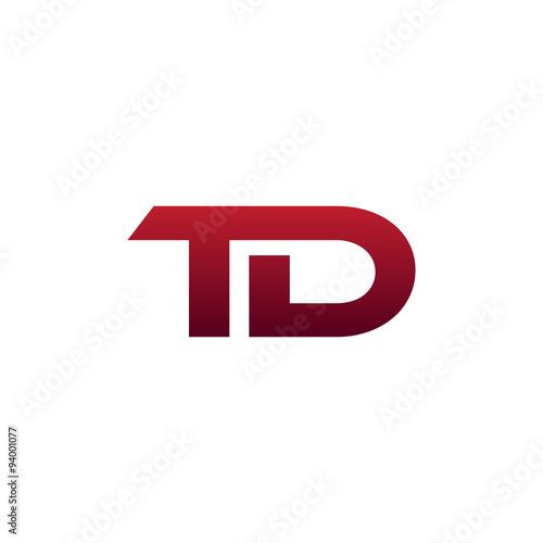 Modern Initial Logo Td Buy This Stock Vector And Explore Similar
