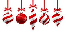 Christmas Red Balls