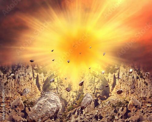 Fotografie, Obraz  Big explosion