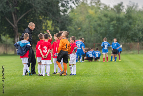 Fotografie, Obraz  KidS soccer team