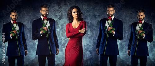 Photo Intrusive lover concept
