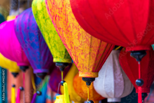 Asian traditional lantern light