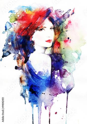 piekna-twarz-portret-kobiety-abstrakcyjna-akwarela-fashion-tla