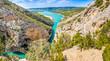 Verdon Canyon with Sainte Croix lake