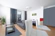 modernes Apartment- modern apartment