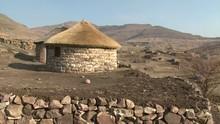 Rural Basuto Village In The Ma...