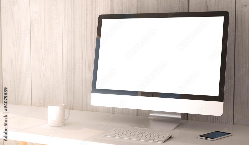 Fototapeta desktop computerblank