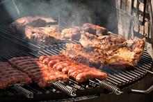 Argentinische Chorizos Auf Dem Grill