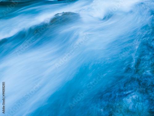 Küchenrückwand aus Glas mit Foto Wasserfalle Marian Creek detail