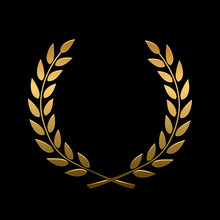 Vector Gold Award Laurel Wreath