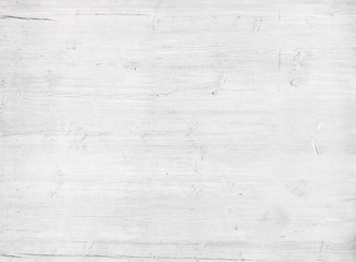 White, grey wooden wall texture, old painted pine planks