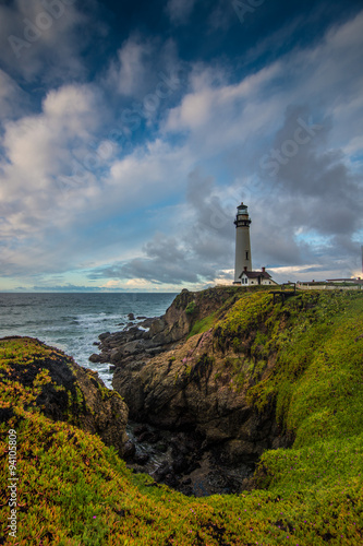 Cadres-photo bureau Con. Antique Pigeon Point Lighthouse