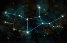 The Constellation Of Virgo The...