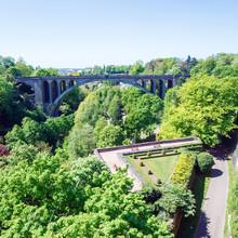 Adolphie Bridge At Luxembourg City