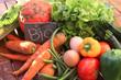 Leinwandbild Motiv Vegetables Bio