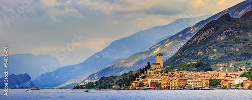 Fotografía Lake Garda (Lago di Garda), Malcesine, Italy