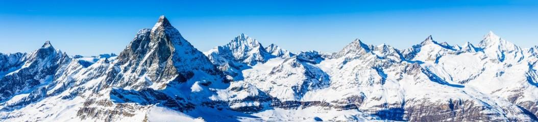 Švicarske Alpe - Matterhorn, Švicarska, panorama
