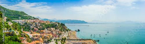 Fotografia Vietri sul Mare with famous Amalfi Coast, Campania, southern Italy