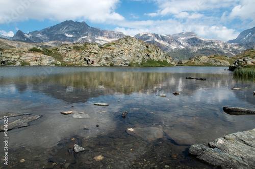 Lac en Vanoise , Savoie , Alpes