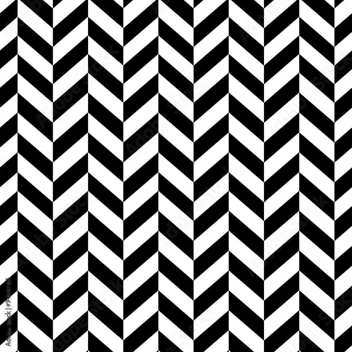 obraz lub plakat Classic Seamless Chevron Pattern