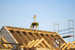 Dachstuhl - Einfamilienhaus - Baustelle